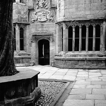 Courtyard, Skipton Castle, No.1