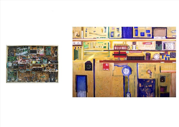 STATE OF THE FUTURE (diptych) 2010