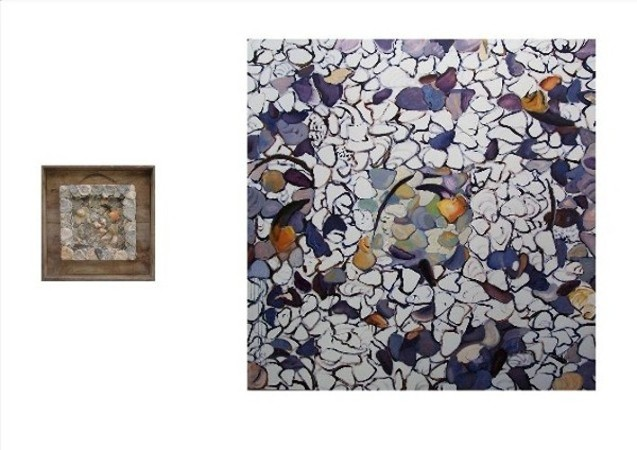 SEA WORKS-SEA CREATURES (diptych) 2009-10