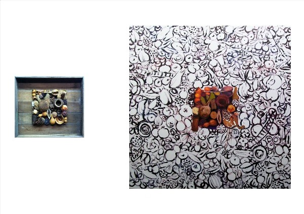 SEEDS OF MOTHER EARTH (diptych) 2009