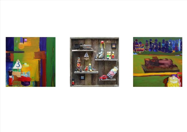 TOYS AND MEMORIES (triptych) 2008-09