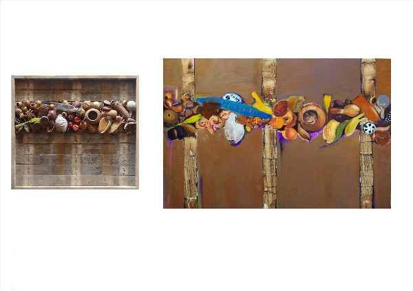 SEEDS OF THE EARTH (diptych) 2009