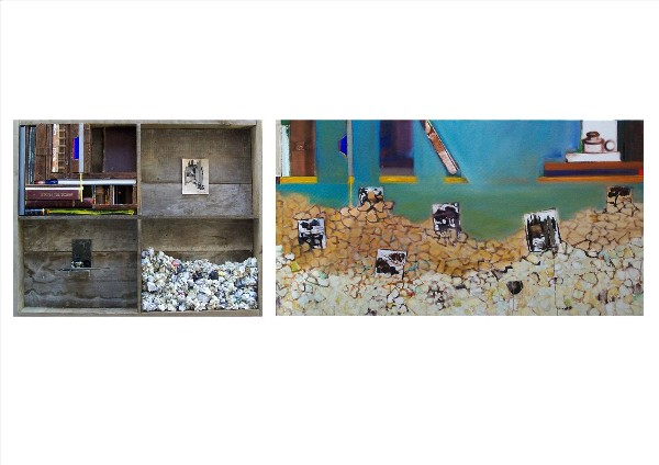 ONE CIRCLE OF CREATION (diptych) 2009-10