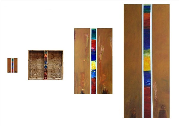 THE JUSTICE OF COLOURS (4 pieces) 2009