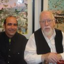 Sir Peter Blake and Stavros Kotsireas