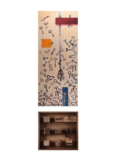 WHICH ONE (diptych) 2011