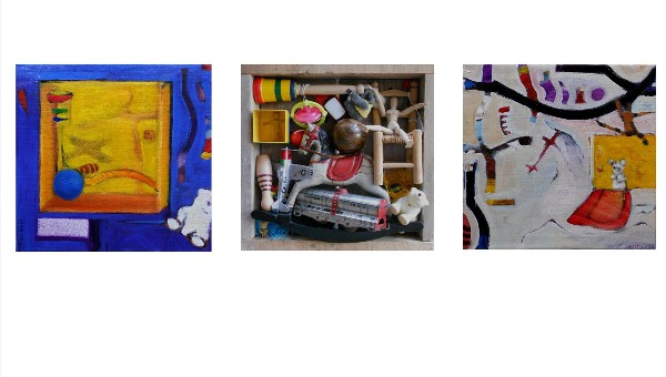 TOYS and MEMORIES II (triptych) 2011