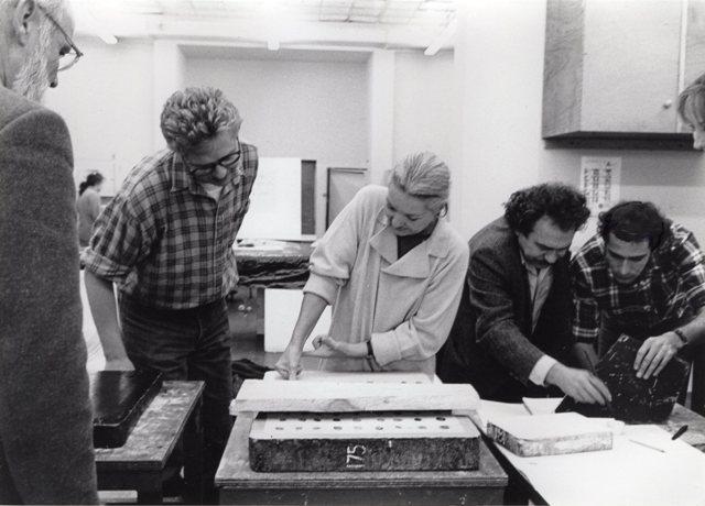 Mitchell and Janis Kounelis, with Stavros Kotsireas