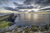 Disappearing Light at Neist Point, Isle of Skye, Scotland