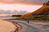 Sunset at Coral Beach, Isle of Skye, Scotland