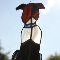 Dog  - custom glass hanging