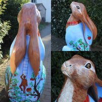 Alfred's Orchard Hare - finished!