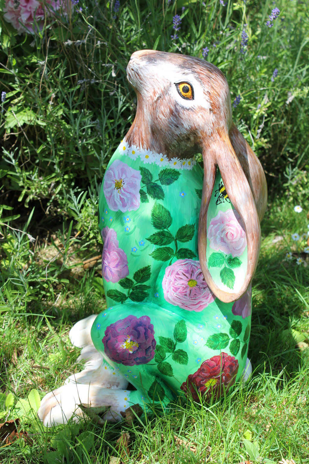 Rosie the leveret - Cotswold hare trail 2017