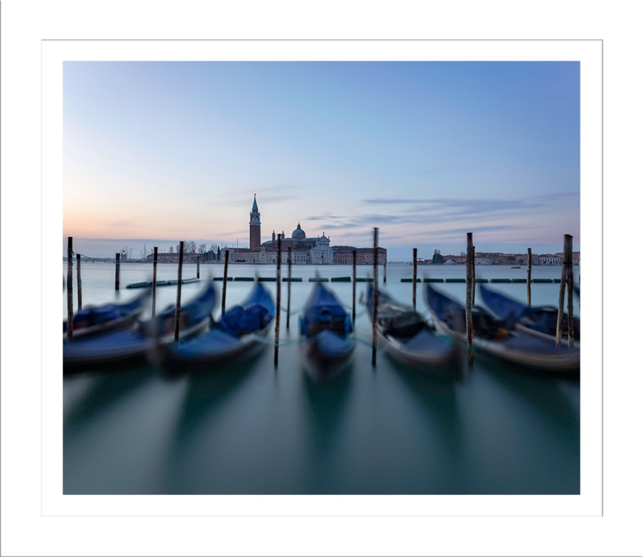 St Marks Gondolas at Dawn