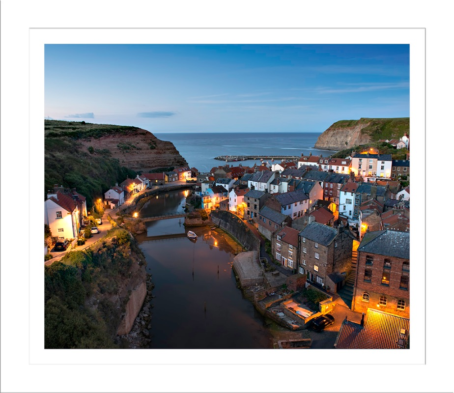 Sunset in Staithes