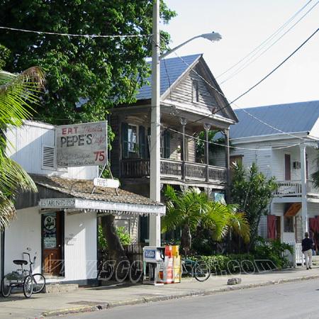 caroline street key west <br> florida