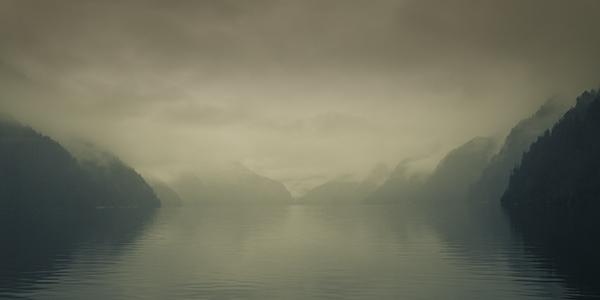 Fog Bound Fjord, I
