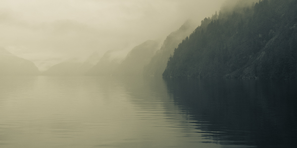 Fog Bound Fjord, II
