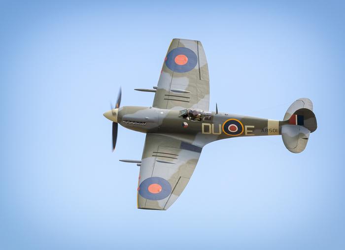 Clipped Wing Spitfire Mk V