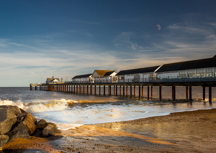 Late Evening at Southwold