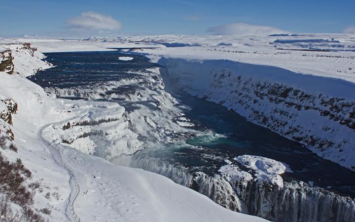 Frioheimar Falls Iceland