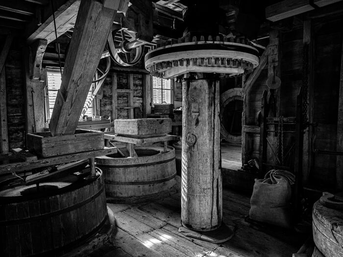 Inside the Old Mill