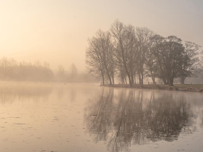 Dawn at Deene Park