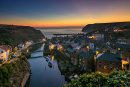 Dawn at Staithes