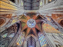 Under the Ely Octagon