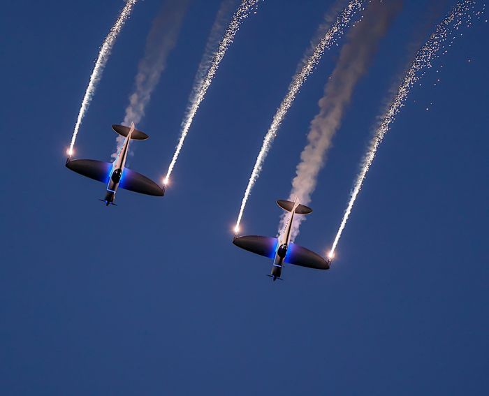 Aerobatics with a Flare (1)