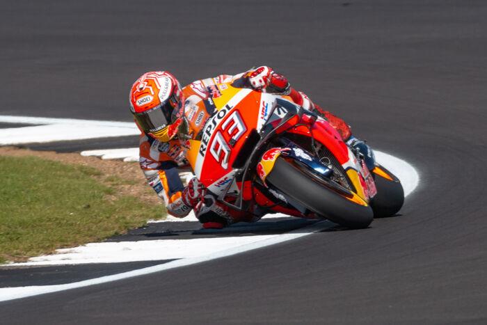 Moto GP World Champion Marc Marcus
