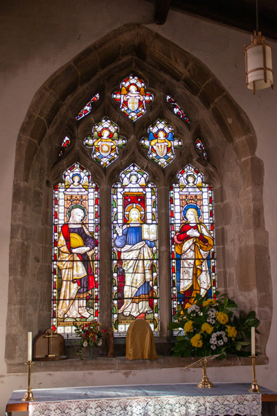 Window in Great Staughton Chuch