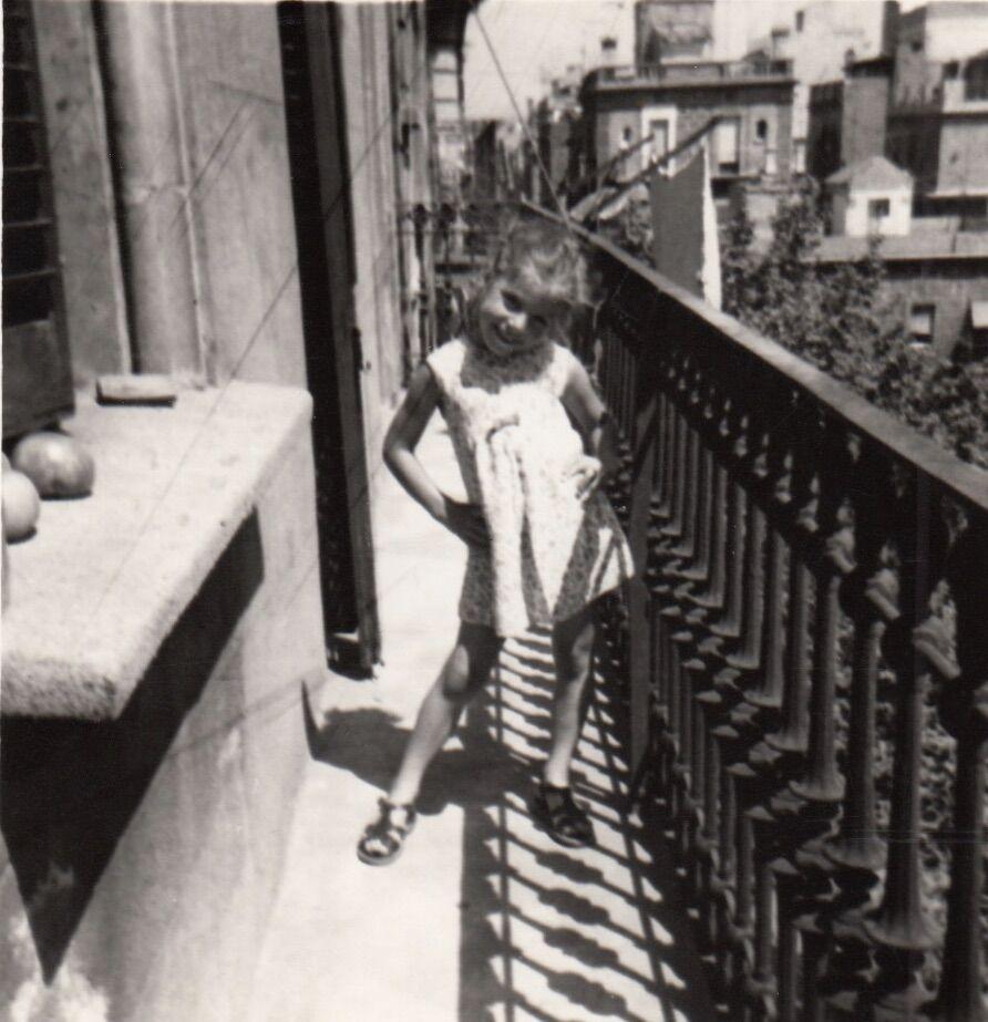 Sonia on Balcony