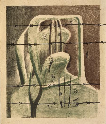 Spanish Prisoner, Henry Moore 1939