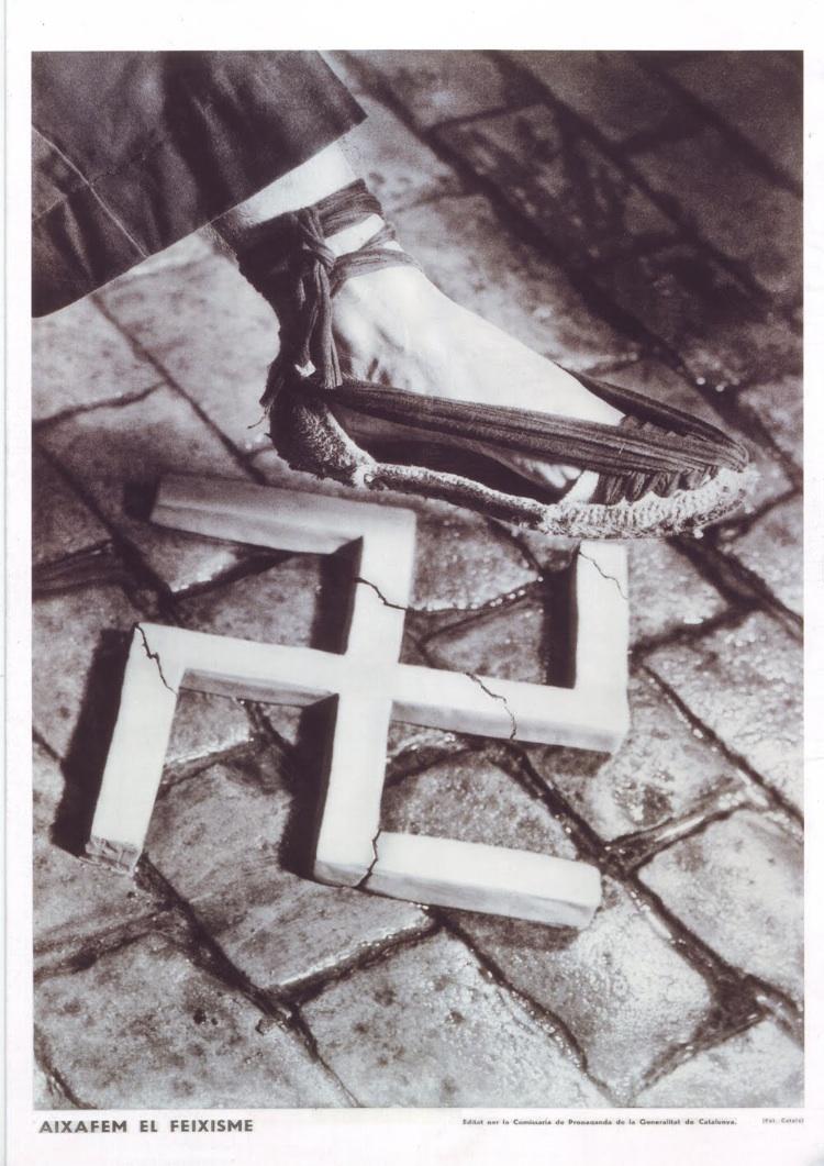 Aixafem el feixisme Pere Català Pic 1937
