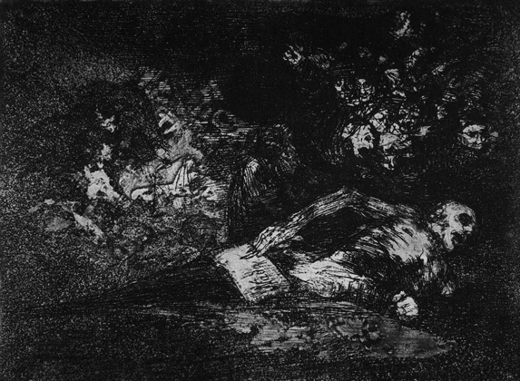 Nada el lo dirá, Goya