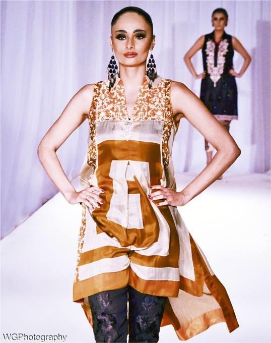Pakistan Fashion Week- Lakhani Textiles