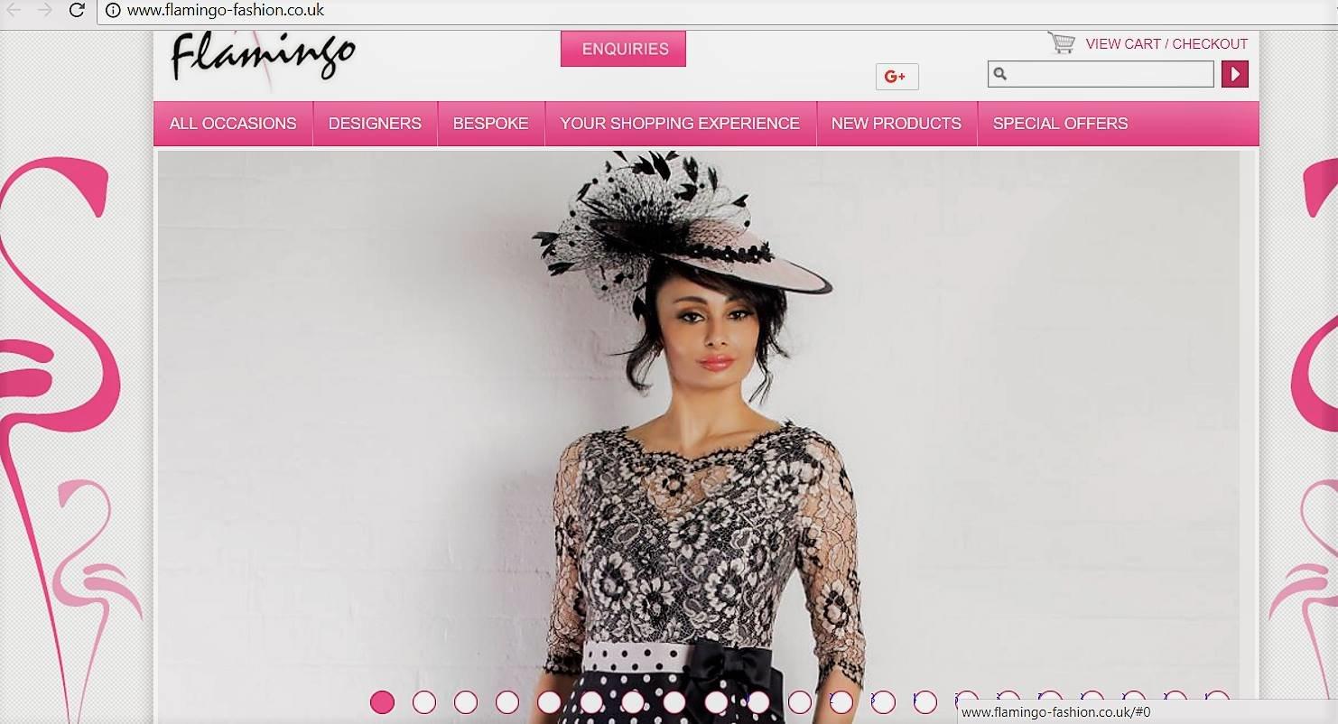 Brand : Luis Civit On the Homepages of :  http://www.flamingo-fashion.co.uk/ http://www.chameleonbride.co.uk/ https://silksofcheltenham.co.uk/ http://lynchfashions.com/ http://ladyg.co.uk/ http://www.marthav.co.uk/portfolio/luis-civit/