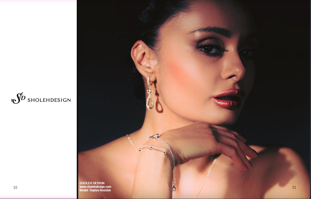 Keel magazine- Sholeh Design Jewellery