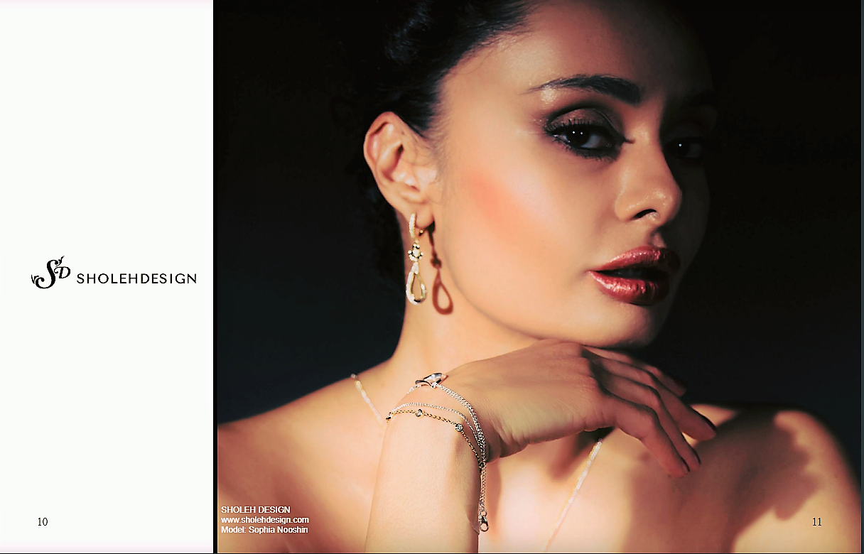 Keel magazine- Sholeh Design Jewellery