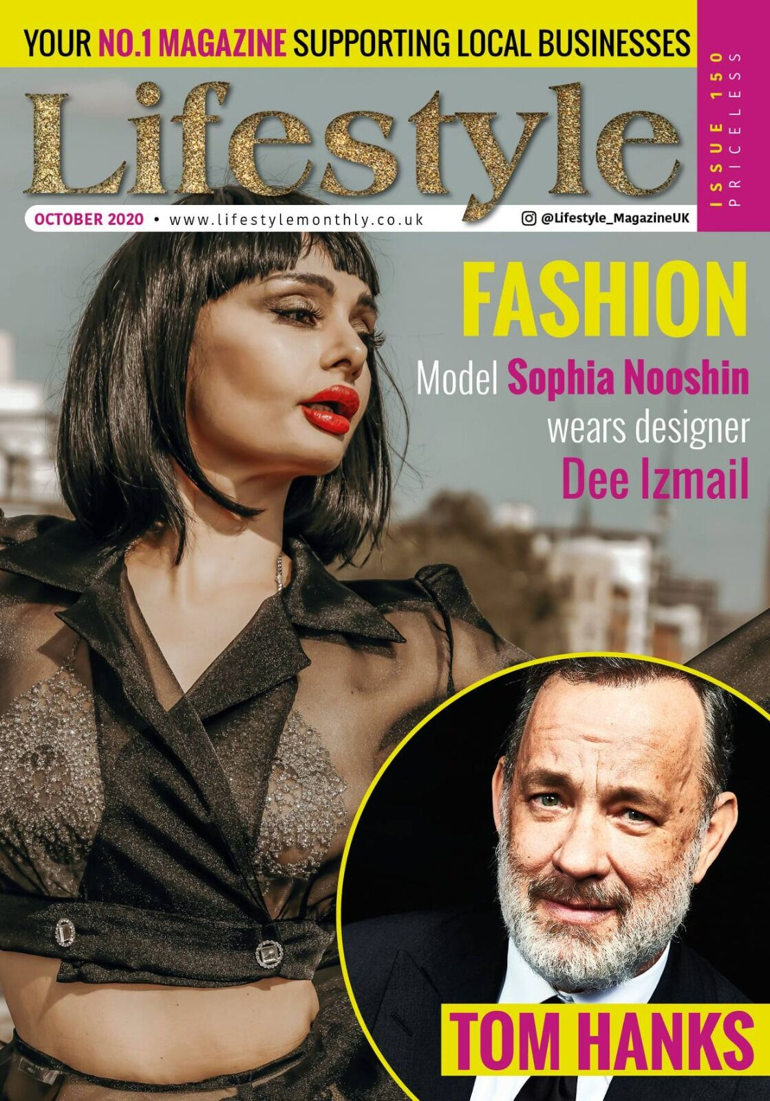 'Lifestyle Monthly' Magazine Cover