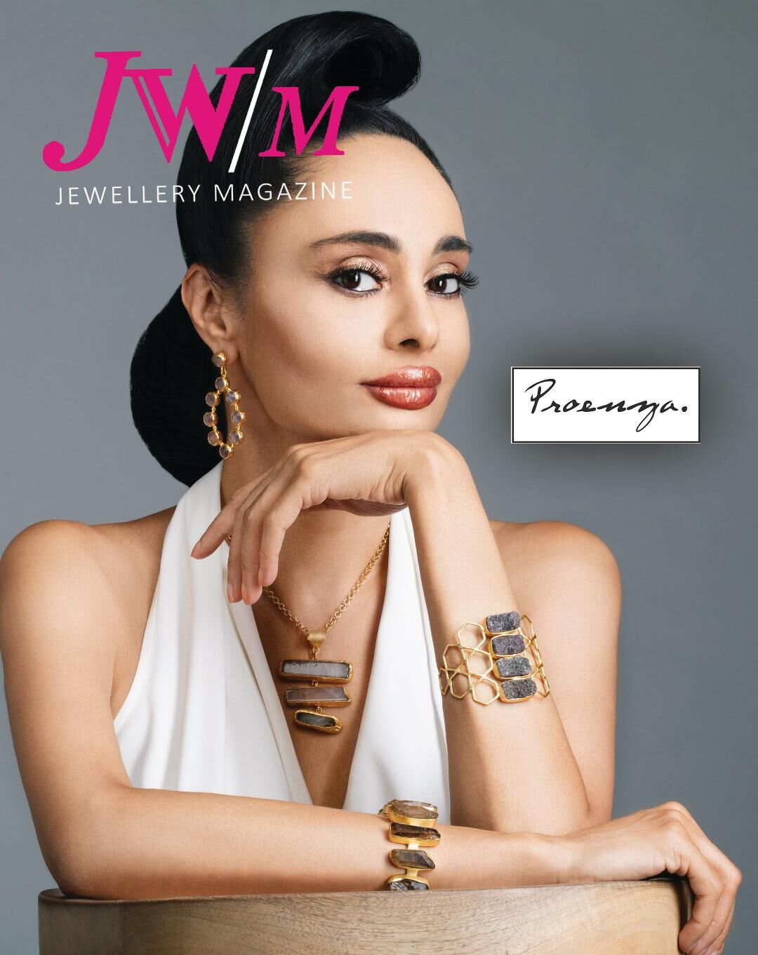 'JW/M Jewellery Magazine' Cover