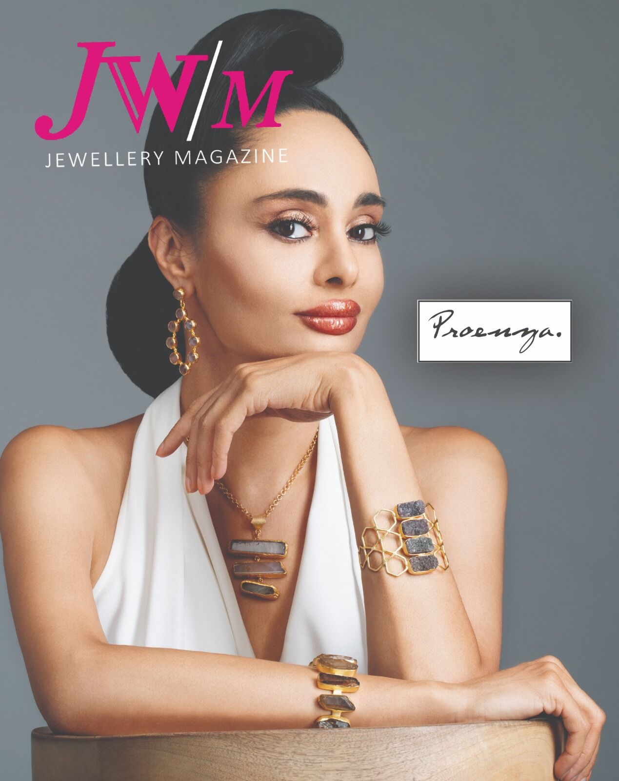 Cover For 'JW/M Jewellery Magazine'