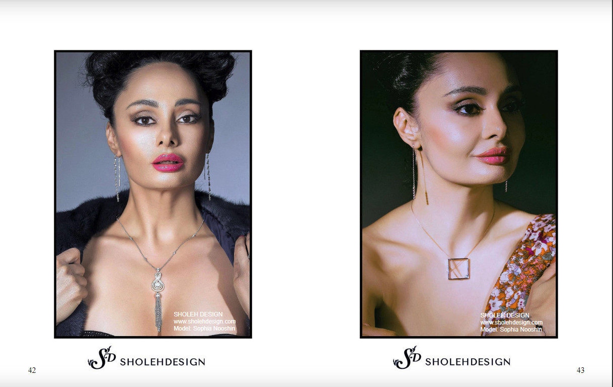 Keel Magazine - Sholeh Design Jewellery