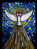 Trinity Windows, the Holy Spirit