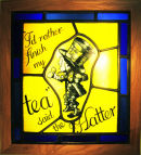 I'd rather finish my tea...