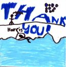 Harris Manson designed a lovely leaving card. Thanks Harris