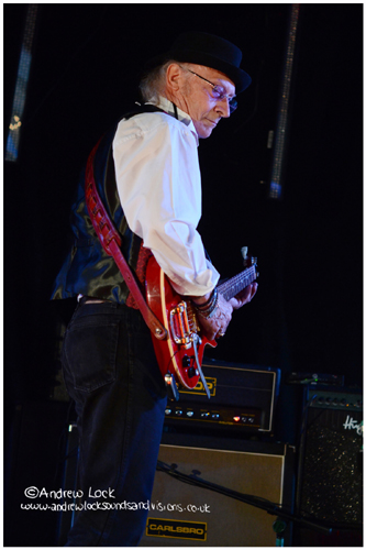 DEL BROMHAM - CAMBRIDGE ROCK FESTIVAL 2013