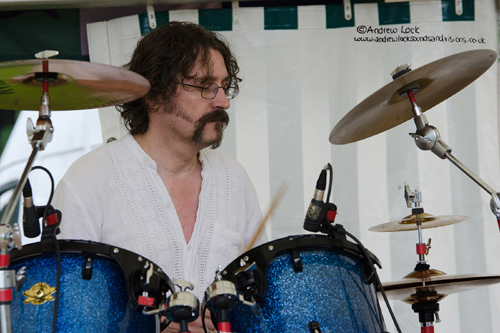 ANDY WICKETT AND THE WORLD SERVICE - LEAMINGTON SPA PEACE FESTIVAL 2014