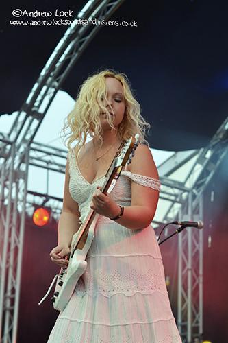 CHANTEL MCGREGOR - CAMBRIDGE ROCK FESTIVAL 2012